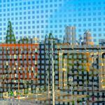 © 2020 Bruce Beicke | Chequer Cityscape | Digital Photographic Print