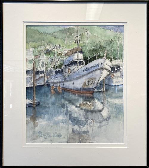 Doyle Leek, Katherine Jane, Watercolor, $400
