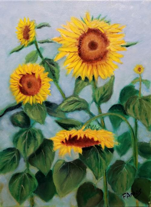 Sunflowers by Fred Amos
