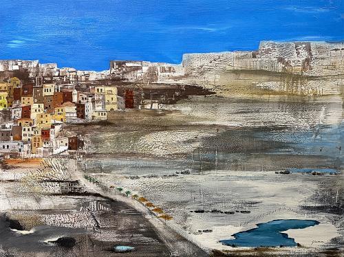 Jeff Gunn, Cliff Dwellings, Acrylic, $280