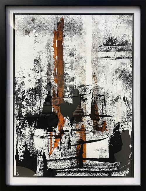 Jeff Gunn, Healing Will Happen, Acrylic, $300