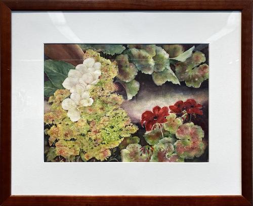 Karen Kreamer, In the Greenhouse, Watercolor, $250