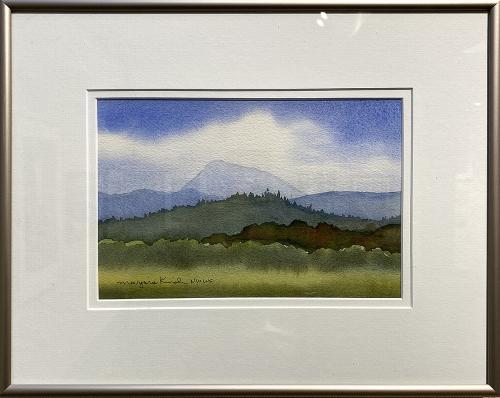 Marjorie Kinch, Hidden Peak, Watercolor, $85