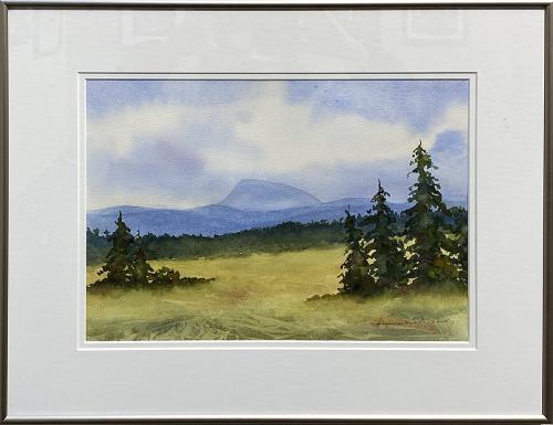 Marjorie Kinch, Promised Land II, Watercolor, $275