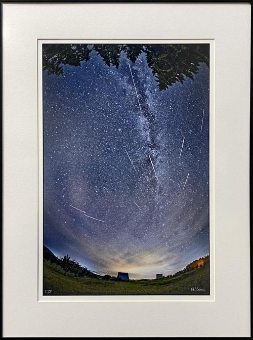 Phil Coleman, A Night of Summer Wonders - Perseid Meteors Over Corvallis, Photography, $295