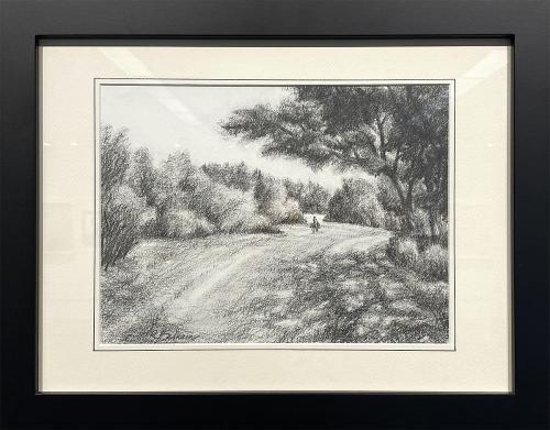 Richard Badham, Inavale Trail, Pencil, $235