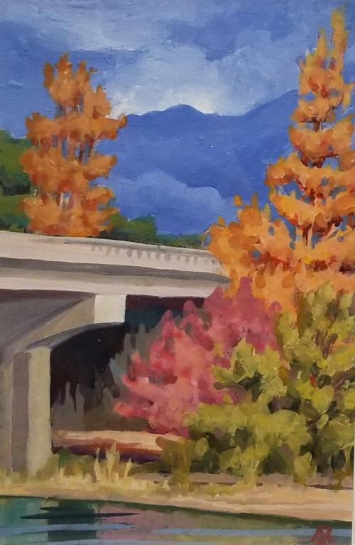 Second Street Bridge by Mark Allison